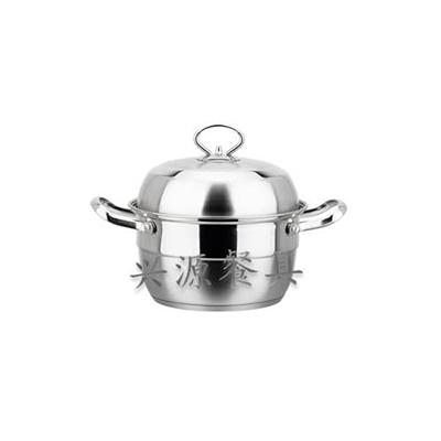 韩式汤蒸锅(钢盖)
